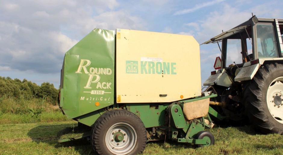 Prasa używana Krone RoundPack 1250, cz.1