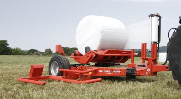 Nowe owijarki balotów Kuhn e-Twin