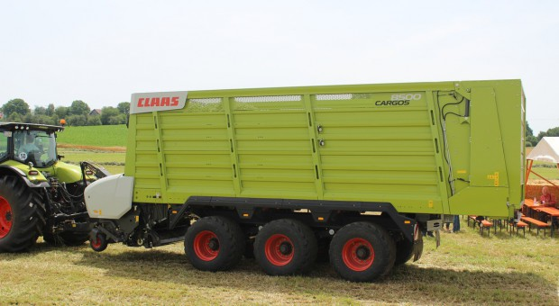Claas Cargos 8000 – nowe przyczepy kombi