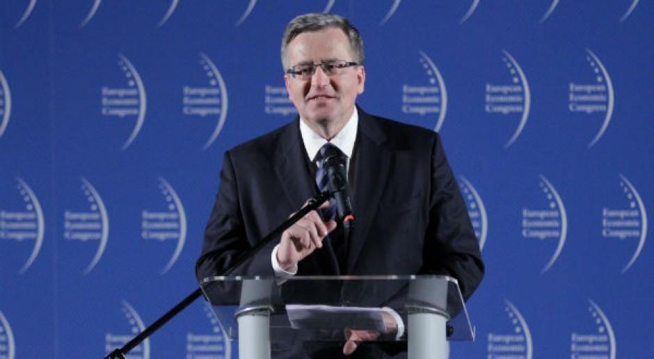 Komorowski: dożynki 2014 roku są dożynkami 25-lecia polskiej wolności