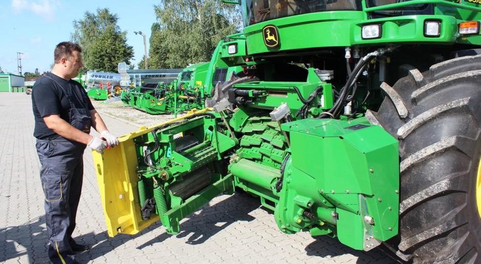Przygotowanie sieczkarni do kukurydzy