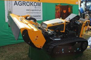 McConnel Robocut- wielofunkcyjny pojazd ze zdalnym sterowaniem