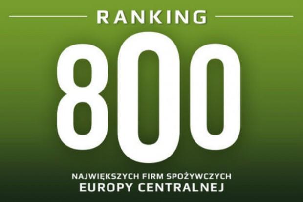 Ranking 800 największych firm spożywczych Europy Centralnej redakcji Rynku Spożywczego i firmy Bisnode