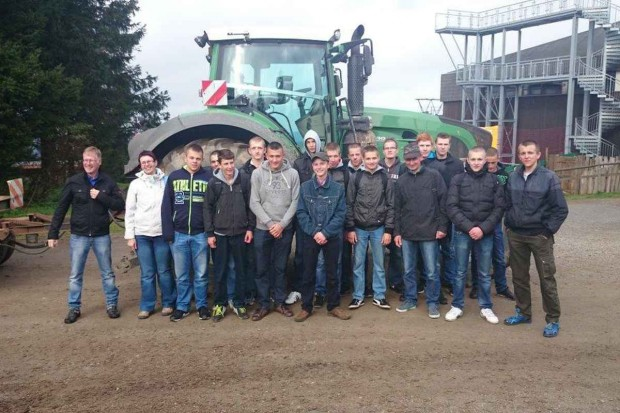 Uczniowie z Lubiejewa na stażu w Nienburgu