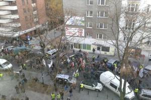 Protest sadowników w Warszawie, domagają się pomocy od rządu