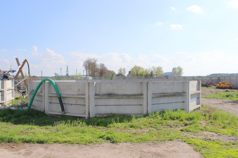 Bardzo dobryFantastyczny Zbiorniki na gnojówkę i gnojowicę - Bydło i mleko BK09