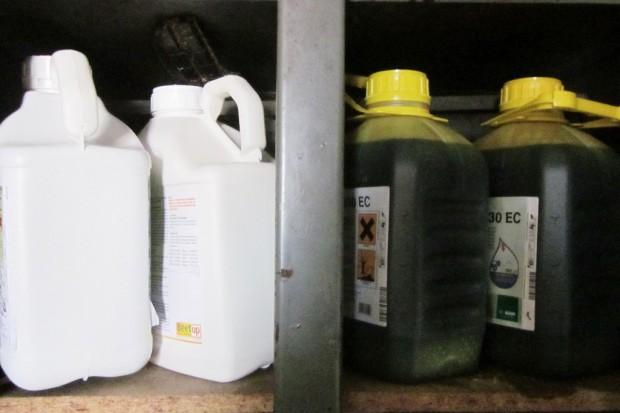 Zabezpiecz środki ochrony roślin przed niską temperaturą
