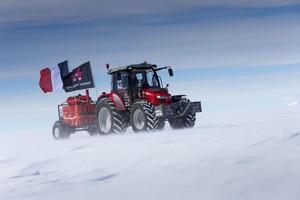 Trelleborg i Massey Ferguson – wspólna ekspedycja na Antarktydę