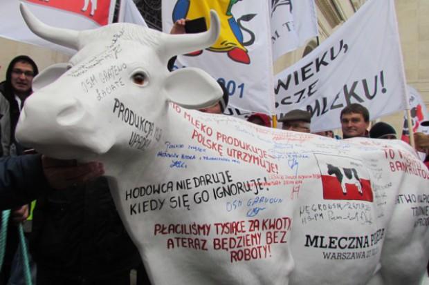 Mleczna Pikieta – protest rolników w Warszawie