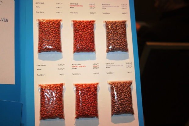 Polimery do powlekania nasion