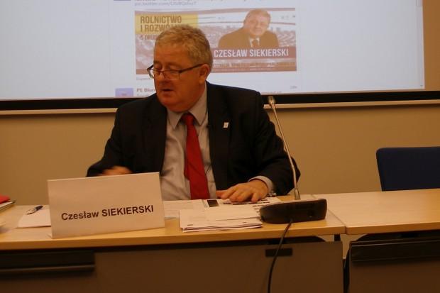 Najbliższe plany Komisji  AGRI  Parlamentu Europejskiego