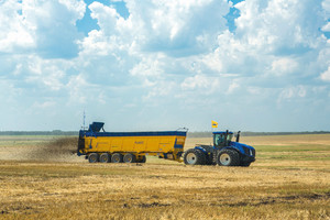 4 217 ton obornika w 24 godz. – rekord New Holland i Brochard