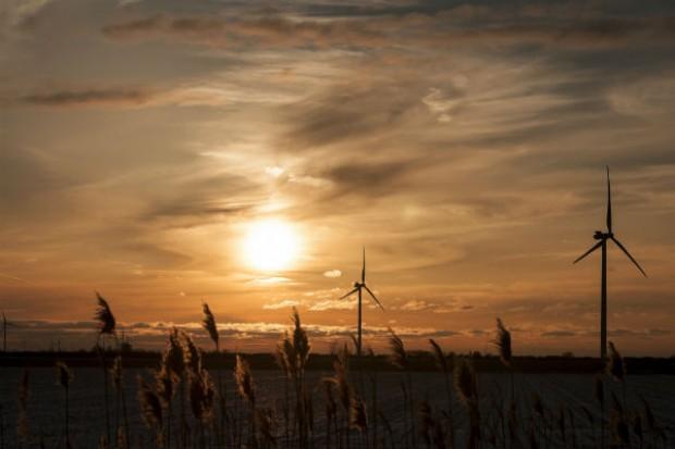 Gotowa konstrukcja hali w fabryce fundamentów farm wiatrowych