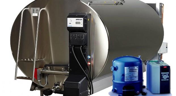 System chłodzenia mleka sterowany częstotliwościowo