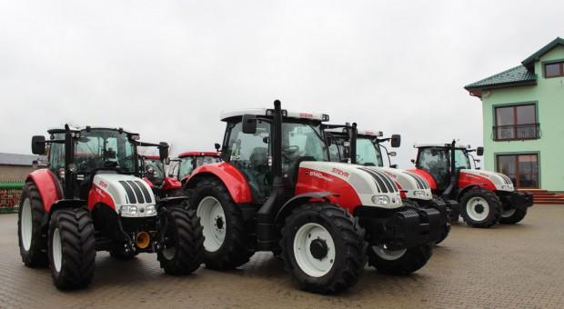 Farmasz: Steyr coraz silniejszy w centralnej Polsce