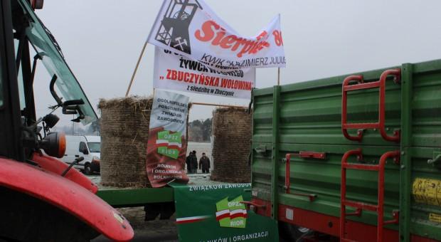 Minął czwarty dzień protestu OPZZ RIOR w Zdanach
