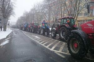 Rolnicy postanowili jechać na Warszawę