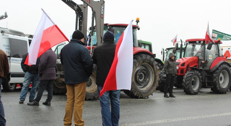 Zakończyła się blokada rolników na rondzie pod Strykowem