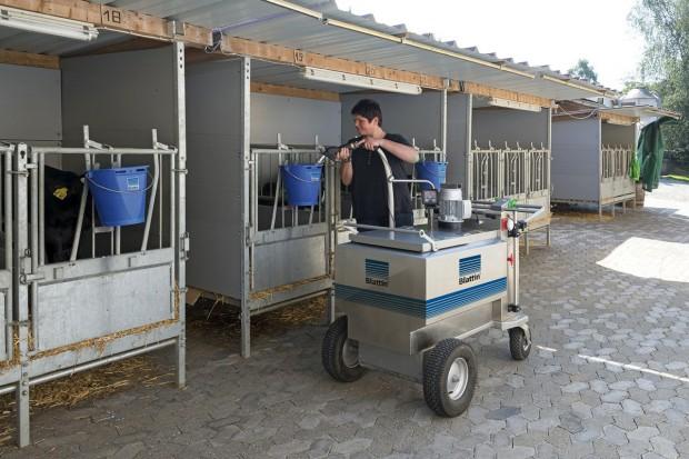Taksówka mleczna - ekspresowe odpajanie cieląt
