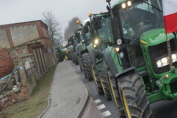 Policja: na razie brak utrudnień w ruchu wz. protestem rolników