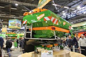Rozsiewacz Amazone ZA-V - może pracować bez udziału hydrauliki