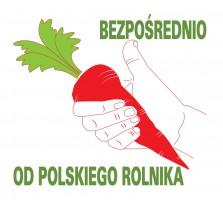 """Jest logo """"Bezpośrednio od polskiego rolnika"""""""
