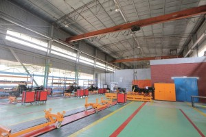 Nowa linia montazowa w fabryce METEC w Adama, fot. Ursus