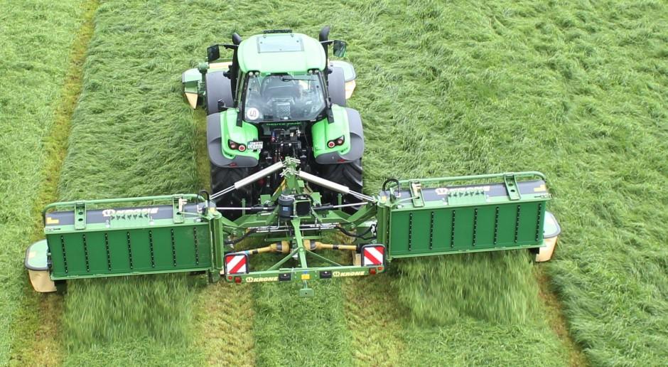 Trwają pierwsze pokosy traw