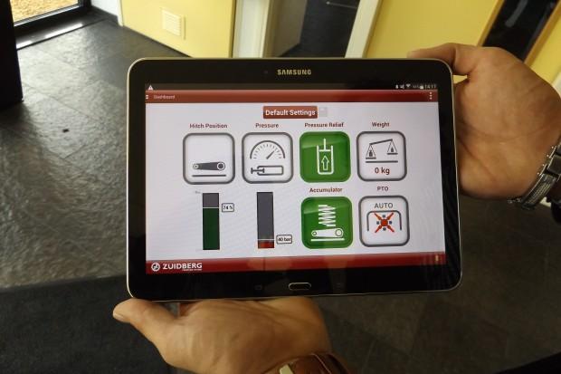 Zuidberg: sterowanie przednim TUZ za pomocą smartphona