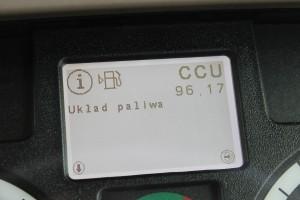 Zaletą zastosowania elektroniki jest m.in. wyświetlanie kodów błędów wskazujących na rodzaj i miejsce usterki lub występującego problemu