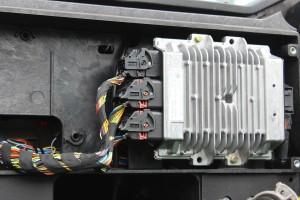 Moduł elektroniczny jest szczelnie zamknięty, ale woda pod dużym ciśnieniem potrafi się dostać do środka