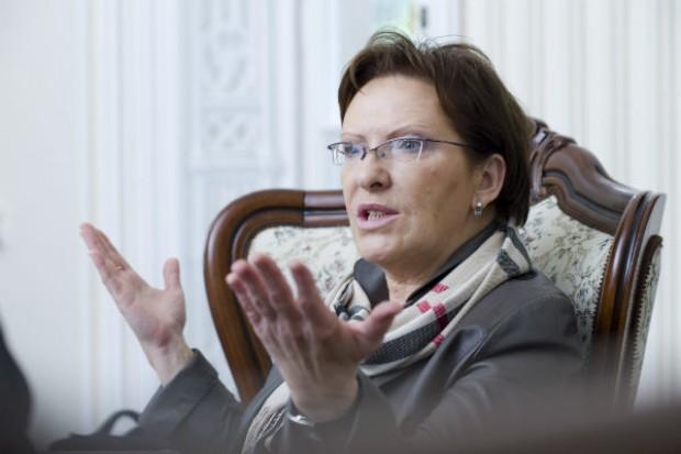 Kopacz: w poniedziałek spotkam się z ministrami rolnictwa i Skarbu Państwa