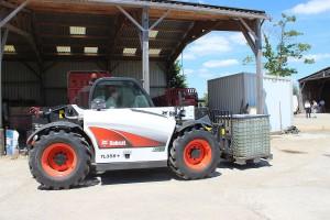 Bobcat TL 358+ - pierwsze wrażenia z jazdy