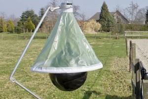 H-trap - pułapka na jusznice deszczowe