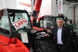 Manitou: nowy kierownik sprzedaży ładowarek dla rolnictwa