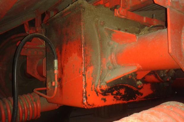 Skrzynia biegów kombajnów Bizon Super – prowizorka na 30 lat