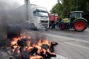 Protesty francuskich farmerów