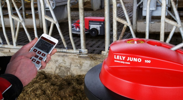 Sterowanie wieloma produktami Lely za pomocą iPhone'a