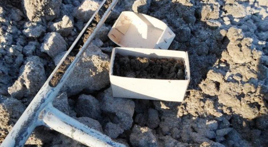 Pobieranie prób gleby do analizy