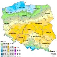 IUNG: Zasięg suszy się zmniejszył