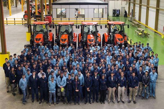 Kubota: fabryka we Francji oficjalnie otwarta