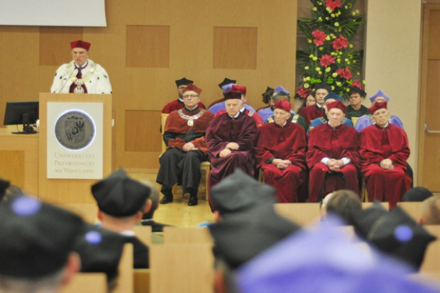 Ponad 10 tys. studentów rozpoczęło rok akademicki na Uniwersytecie Przyrodniczym