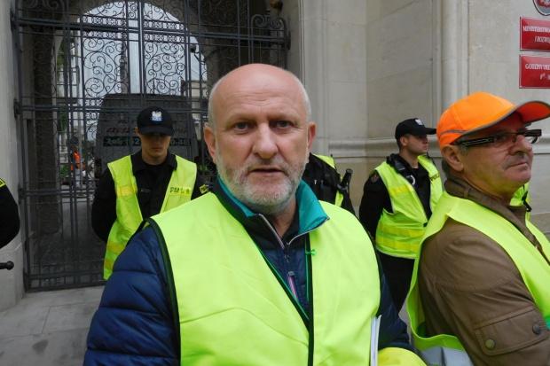 Protestujący: Jesteśmy najtańszą weterynarią w Unii Europejskiej
