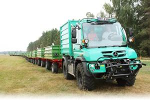 Unimog w wersji rolniczej wkracza na polski rynek