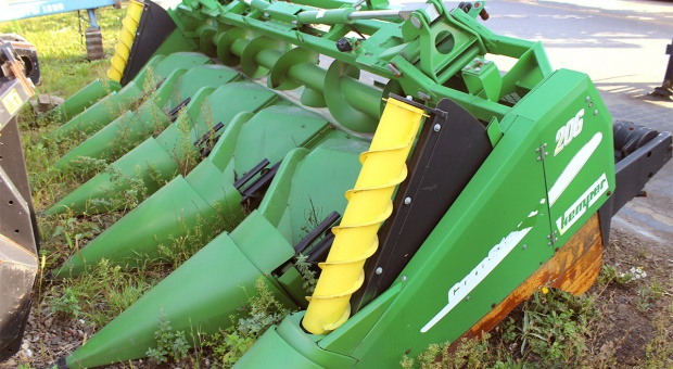 Kupujemy używaną przystawkę do kukurydzy