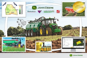 "Connected Nutrient Management ze złotem targów ""Agritechnica 2015"""