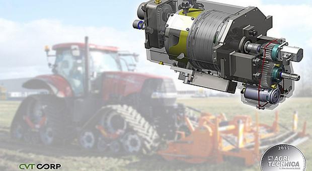 Agritechnica 2015: bezstopniowy WOM ze srebrem