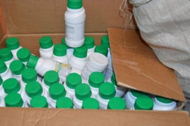 Prawie 200 kg podrobionych środków ochrony roślin