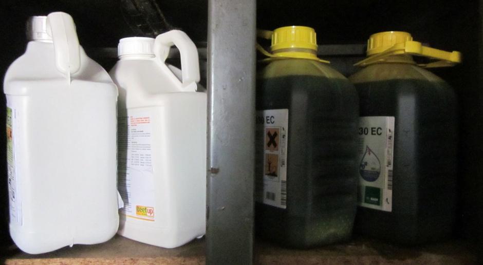 Zabezpiecz pestycydy przed zimą