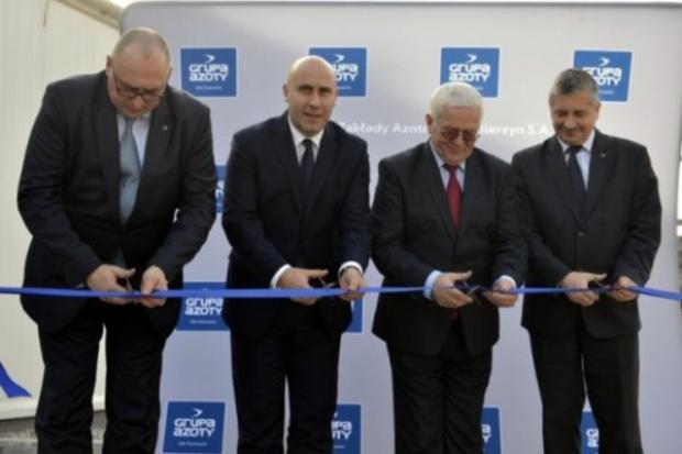 Otwarto instalację produkcji RSM w Kędzierzynie-Koźlu